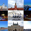 BEAUTIFUL MOSCOW.COLLAGE. — Stock Photo #23518523