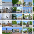 Stock Photo: Beautiful city Penza.Russian. Collage.