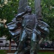 Stock Photo: ARAM KHACHATURIAN.MONUMENT.MOSCOW.