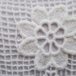 Cotton lace decoration - Stock Photo