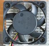 冷却通风系统的计算机 — 图库照片