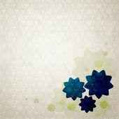 Blue flowers — Stock Vector