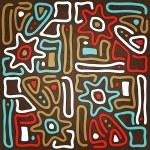 Maya sun — Stock Vector #27466999