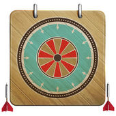 Darts board — Stock Vector