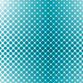 Mavi polka — Stok Vektör
