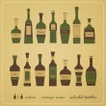 Alcohol bottles — Stock Vector #33115771