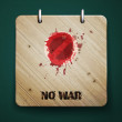 No war — Stock Vector