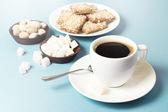 Kış kahvaltı — Stok fotoğraf