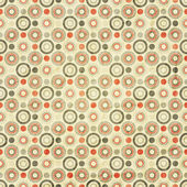Circles on paper — Vettoriale Stock