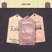 Stagione di carta — Vettoriale Stock