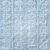 Blauwe plaid — Stockvector
