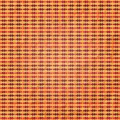 Oranje plaid — Stockvector