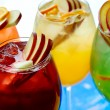 Stock Photo: Cold non-alcoholic cocktails