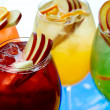 Cold non-alcoholic cocktails - Stock Photo