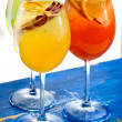 Two glasses with cocktails — Stock Photo #24900521