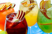 Cold non-alcoholic cocktails — Stock Photo
