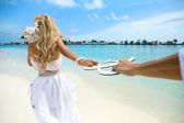 Wedding on Maldives — Stock Photo