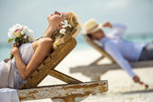 On the beach — Stock Photo