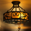 Antique lamp - Stock Photo