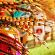 Foto Stock: Colorful feathers