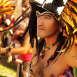 Native American man - Stock Photo