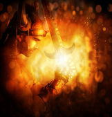 Guerrero de la luz — Foto de Stock