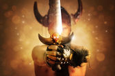 Espada de guerrero — Foto de Stock