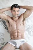 Sexy male underwear model — Stock Photo