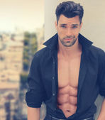 Hot romantic guy — Stockfoto