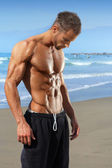 Fit muscular young man — Stock Photo