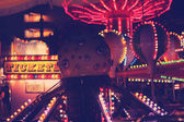 Fun Carnival at Night — 图库照片
