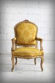 Vintage fauteuil luxueux — Photo