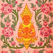 Thai Art Background — Stock Photo