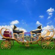 Fairy tale carriage — Foto Stock