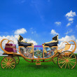 Fairy tale carriage — Stockfoto