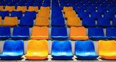 Seats in stadium — Stock Photo