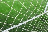 Goal net — 图库照片