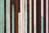Wall and floor siding weathered wood background — Stock Photo