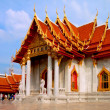 Marble Temple, Wat Benchamabophit, Bangkok, Thailand — Stock Photo