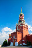 Russia, Moscow. Spassky Tower of Moscow Kremlin — Stock Photo