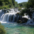 Krka in croatia - nationalpark and waterfalls - Stock Photo