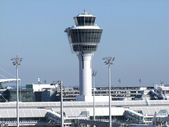 Tower in Munich - Airport — Stock Photo