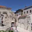 Stock Photo: Split in croatia - hostorical old town