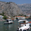 Harbour omis in crotia - river retina — Stock Photo