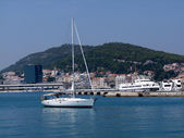 Port de split en Croatie — Photo