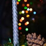 Christmas candle — Stock Photo #13300409