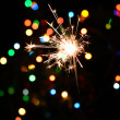 Christmas sparkler — Stock Photo #13300416