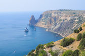 View of the bay in Crimea — Stock Photo