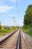 Railway track — Stock Photo