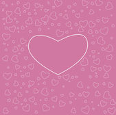 Background of hearts — Stock Vector
